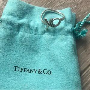Tiffany & Co. Paloma's Graffiti Love & Kisses Ring